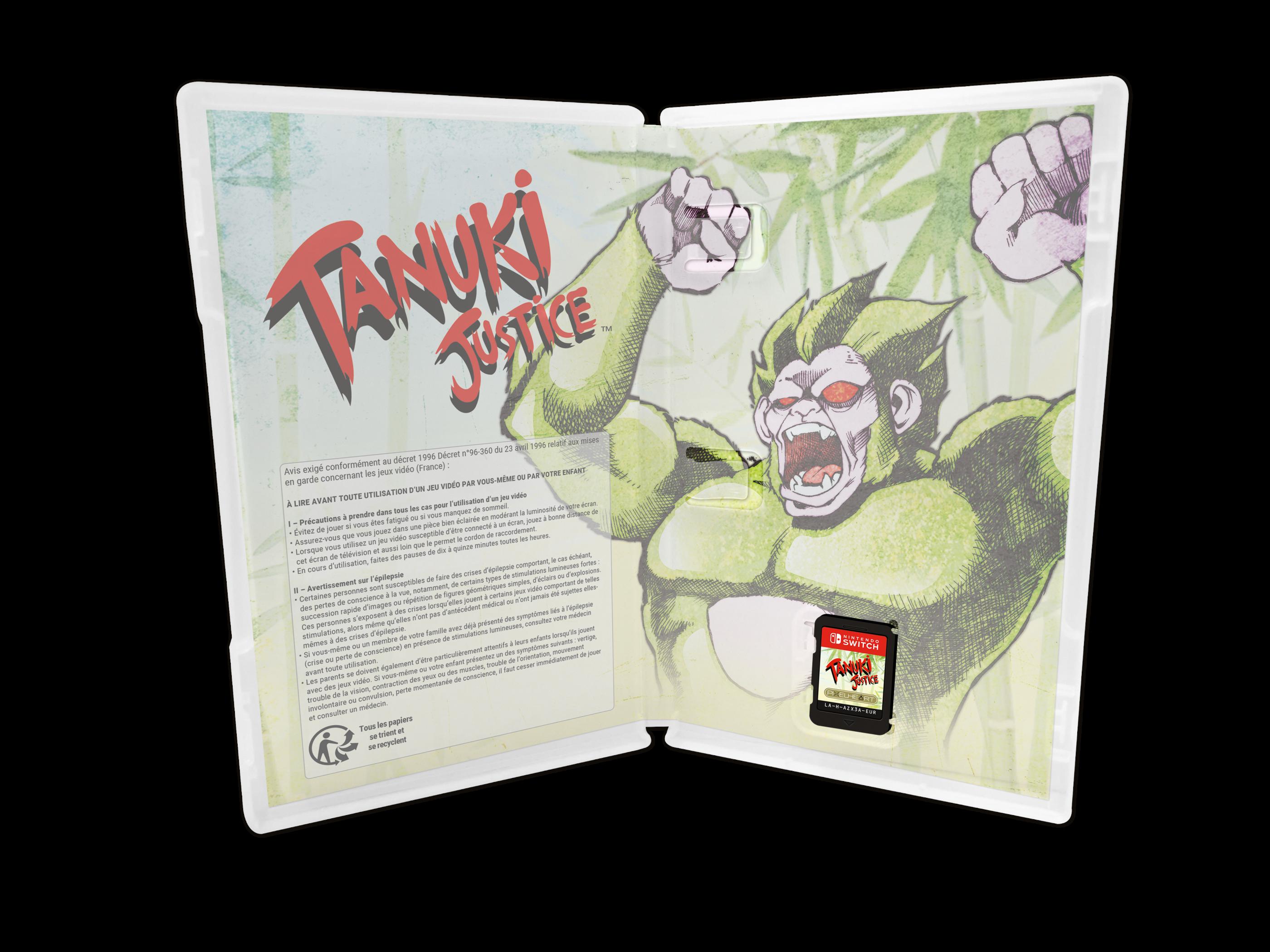 Fecha lanzamiento Tanuki Justice